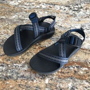 Chaco | Z1 Ecotread Black Blue Sandals Youth 13